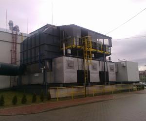 Dopalacz gazów produkcyjnych  MAN BUS Starachowice